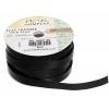 Flat Leather 10x2mm (5m Spool) Black